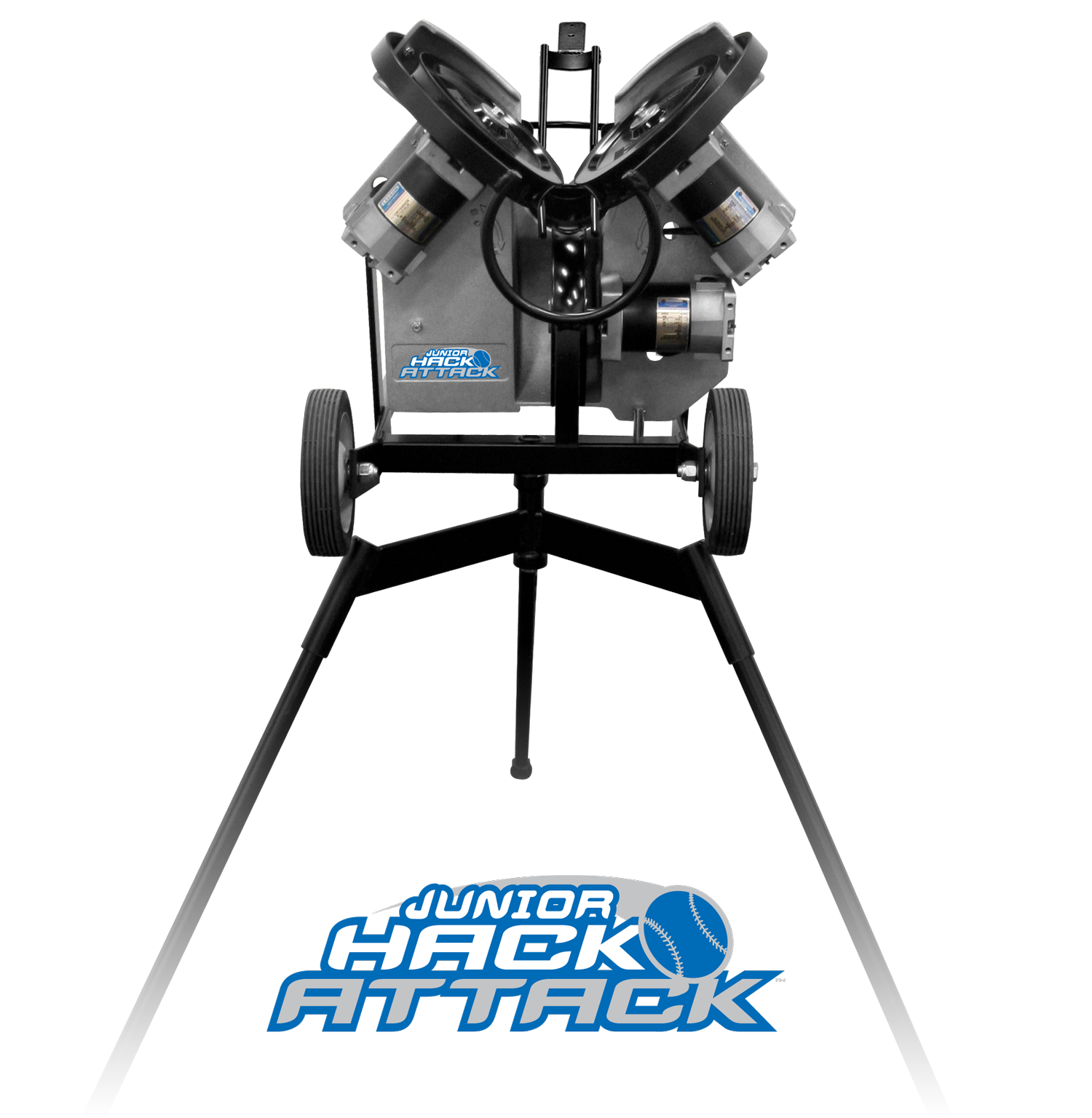 Junior Hack Attack Baseball Pitching Machine Features
