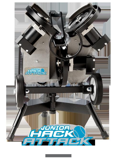 Junior Hack Attack Softball Pitching Machine